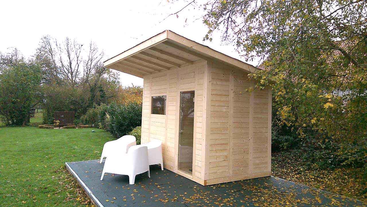aussen sauna 1 b r saunabau. Black Bedroom Furniture Sets. Home Design Ideas